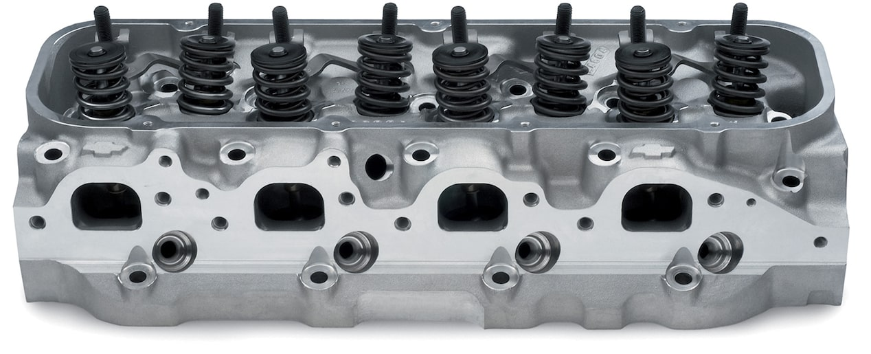 Chevy Performance Bowtie Aluminum Cylinder Head Assembly