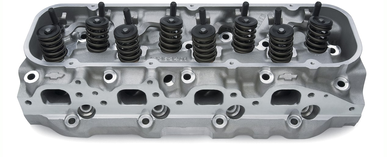 Aluminum Bowtie Rectangular Port Cylinder Head