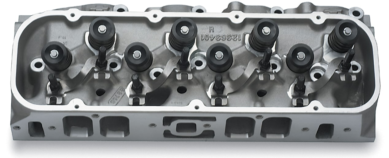 Aluminum bowtie 572/620 cylinder head Chevy Performance