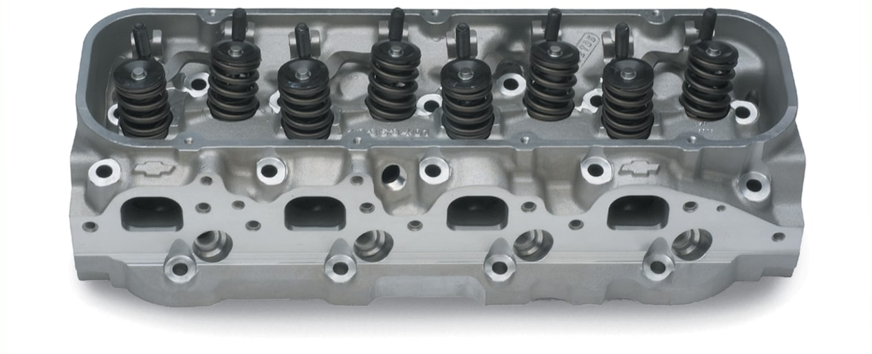 Chevy Performance aluminum bowtie cylinder head 572/620