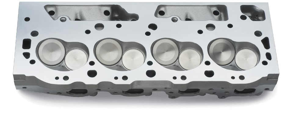 Big-Block Aluminum Bowtie Cylinder Head Chevy Performance