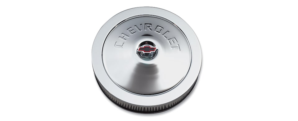 Chevrolet Performance Big Block Chevrolet Logo Classic Design Air Cleaner Part No. 12342071