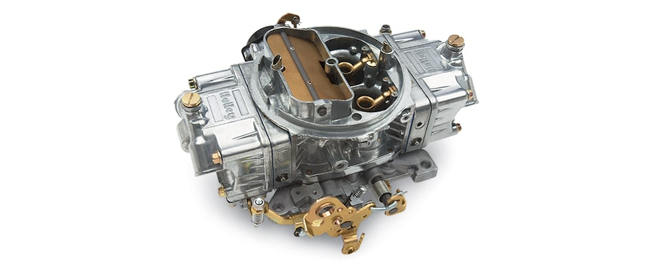 Chevrolet Performance Big Block Holley 850-cfm Carburetor Part No. 19170095