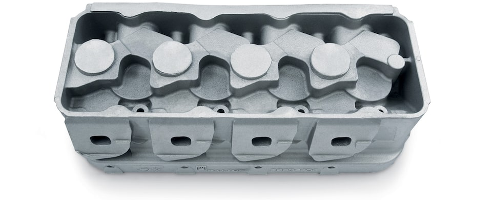 DRCE 3 Raw Aluminum Cylinder Head Casting Chevy Performance