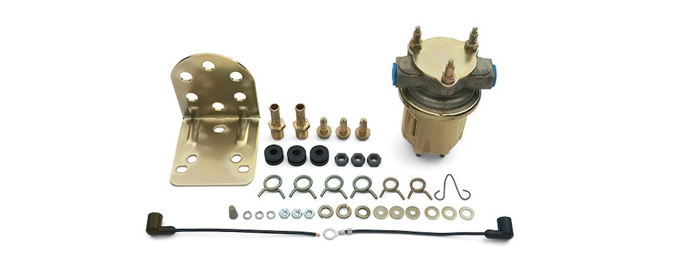 Chevrolet Performance Big Block High Output Electric Fuel Pump Part No. 25115899
