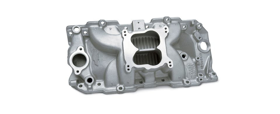 Chevrolet Performance Big-Block High-Rise Intake Manifold For Engines With Oval Ports Part No. 12363420