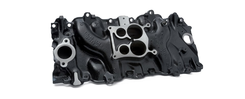 Chevrolet Performance Big-Block Intake Manifold For Engines With Oval Port, Iron, And Spread Bore Part No. 14097092