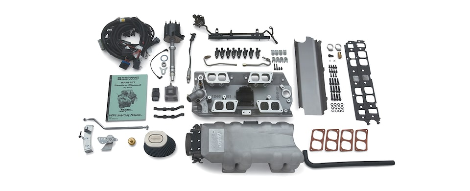 Chevrolet Performance Big-Block Ram Jet Fuel Injection Kit With MEFI-4 Electronics
