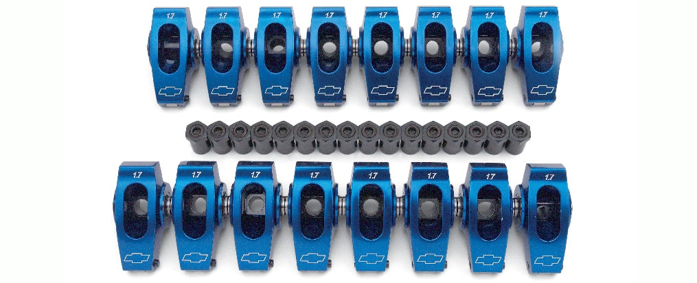 Chevrolet Performance Big-Block Aluminum Roller Rocker Arm Set 1.7:1 Ratio Part No. 19210726