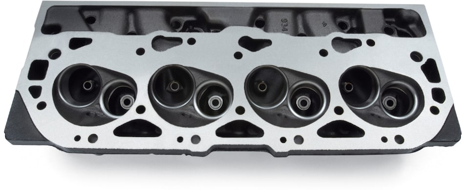 Service Replacement Cylinder Heads from Chevy Performance