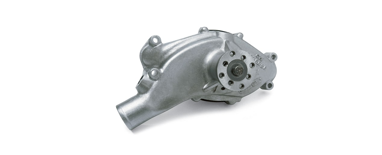 Chevrolet Performance Big-Block Aluminum Water Pump With Short Mounting Legs Part No. 19168602