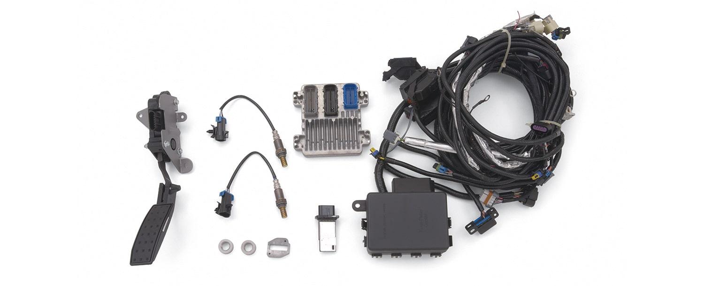 ls lt lsx block control modules harnesses chevrolet performance rh chevrolet com gm performance stand alone wiring harness Universal GM Wiring Harness