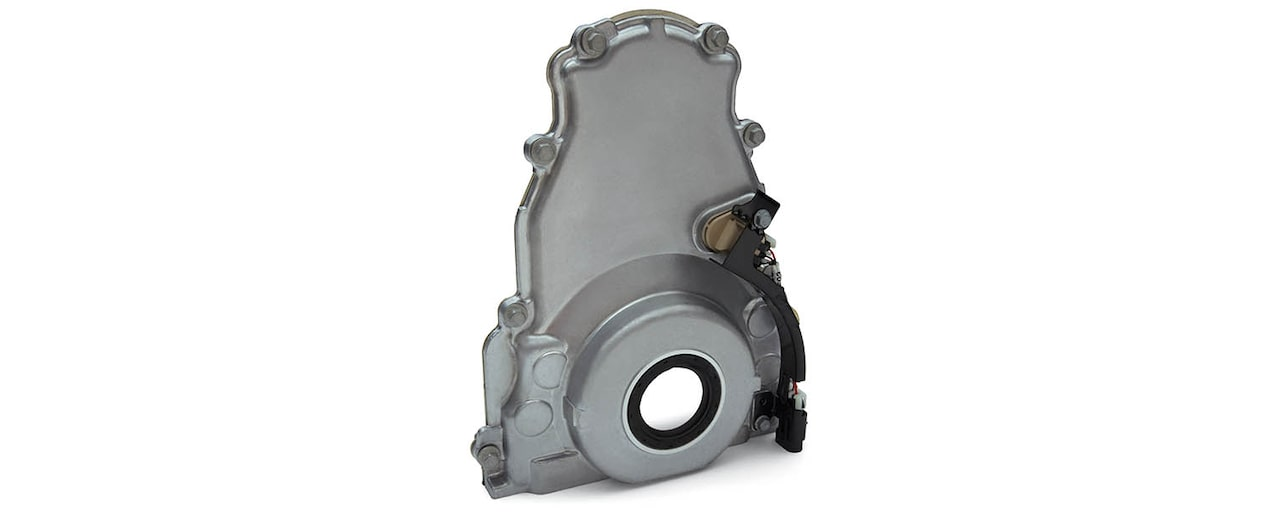 Chevrolet Performance LS/LT/LSX-Series Production Cylinder LSX Bowtie Engine Block LS2 or LS3 Front Timing Cover