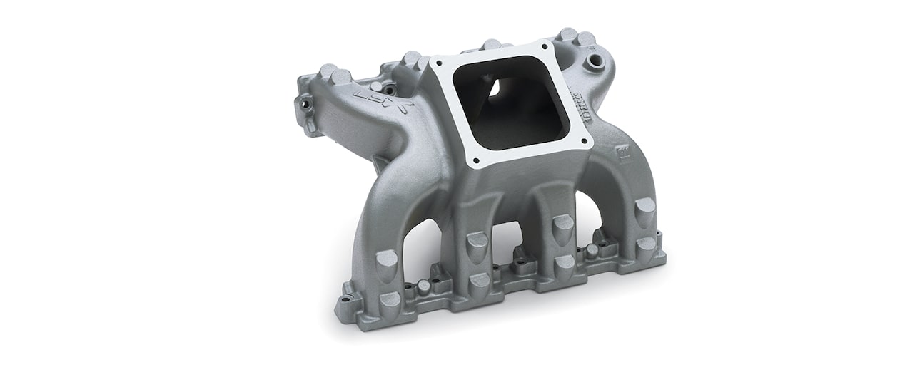 Chevrolet Performance LSX And DR Single-Plane Standard Deck 4-BBL Manifold Part No. 19257851