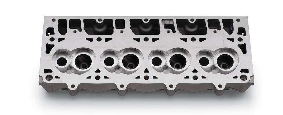 Chevrolet Performance LSX-SC CNC-Machined Bare Cylinder Head