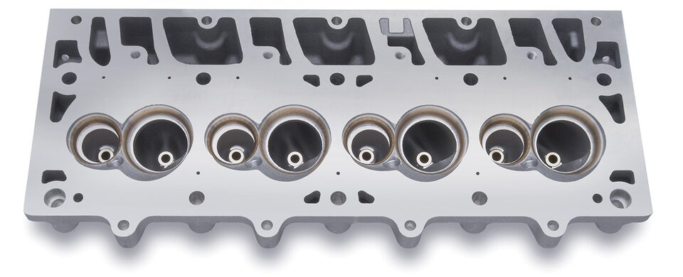 LSX-DR Cylinder Head Detail Chevy Performance