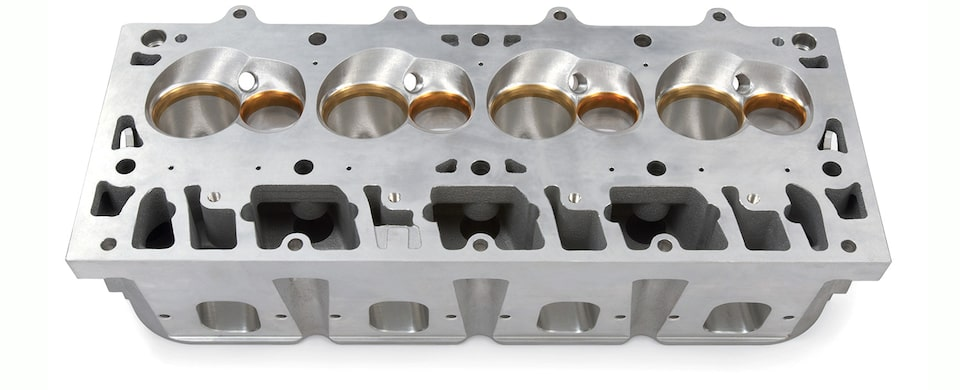 LSX-CT CNC-Ported Cylinder Head Detail
