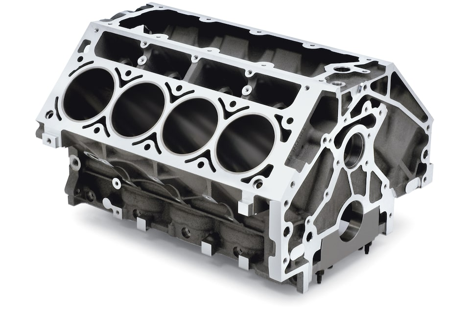 Production LS, LT, and LSX Cylinder Blocks from Chevrolet Performance