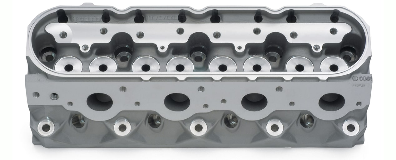 Bare C5R Racing Cubed Cylinder Head Assembly Detail