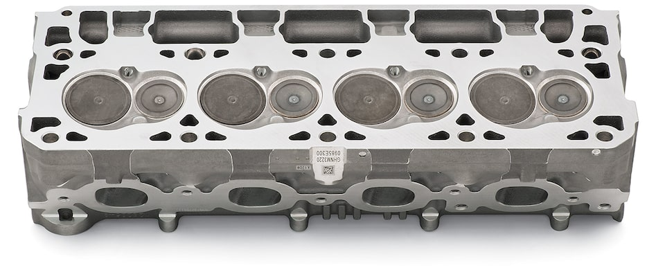 LT1 CNC Cylinder Head Detail Chevy Performance