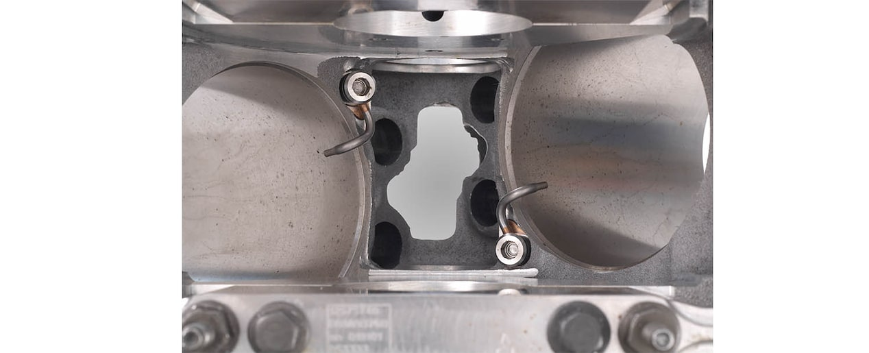 Chevrolet Performance LS/LT/LSX-Series Production Cylinder LSA-LS9 6.2L Bare Engine Block Piston Oilers View