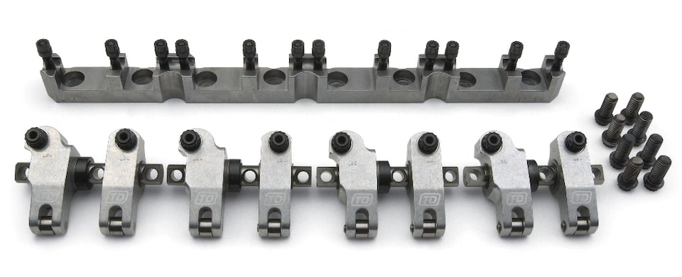 Chevrolet Performance LSX Series Block LSX454R Rocker Arm Kit Part No. 19201808