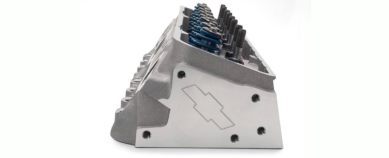 Fast-Burn Aluminum Cylinder Head Assembly