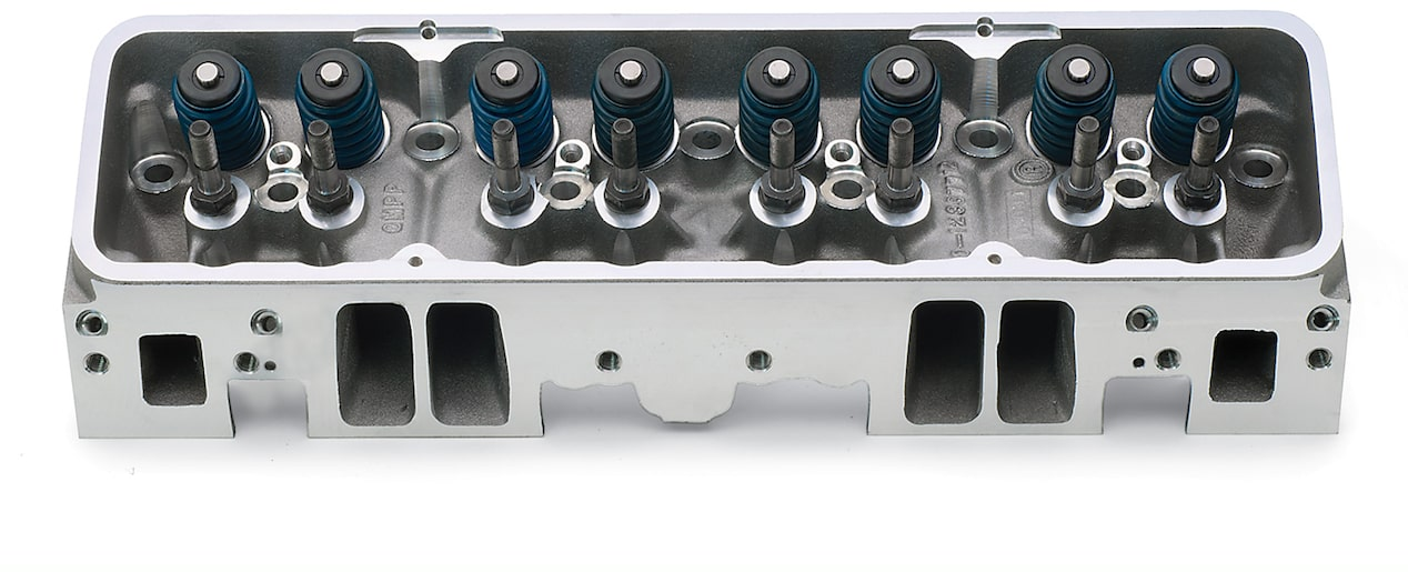 Small Block Aluminum Fast Burn Cylinder Heads | Chevrolet Performance
