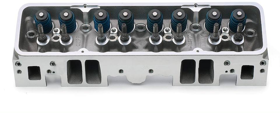Chevy Performance Fast-Burn Aluminum Cylinder Head