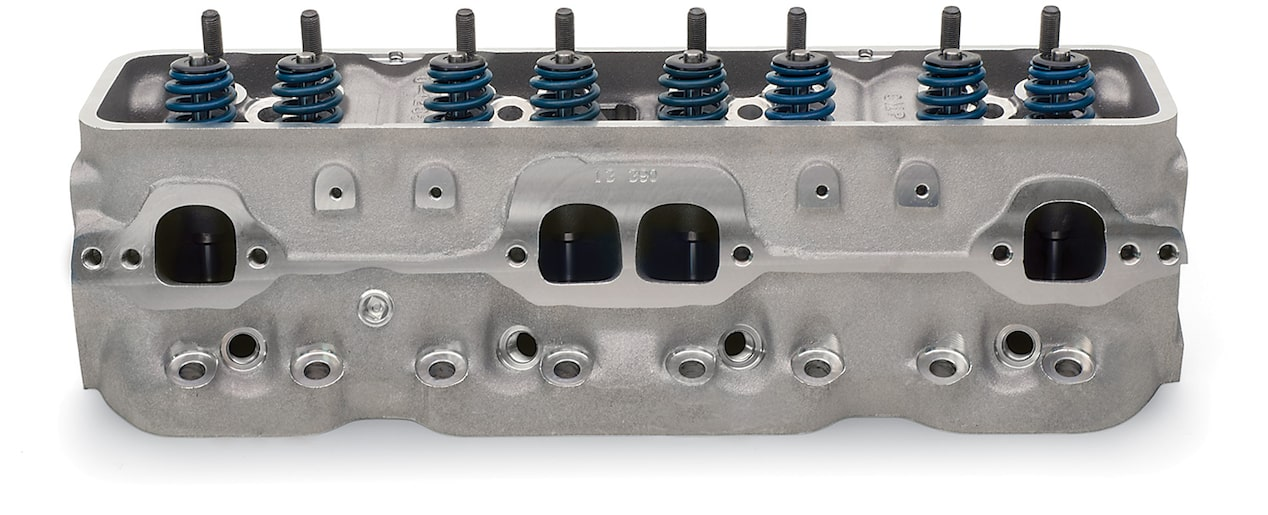 Aluminum Fast-Burn Cylinder Head Chevy Performance