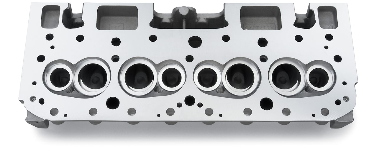 "Chevy Performance Small-Block Semi-Finished 18"" Cylinder Head"