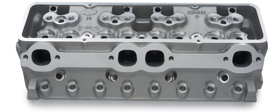 "Semi-Finished Small-Block 15"" Cylinder Head Chevy Performance"