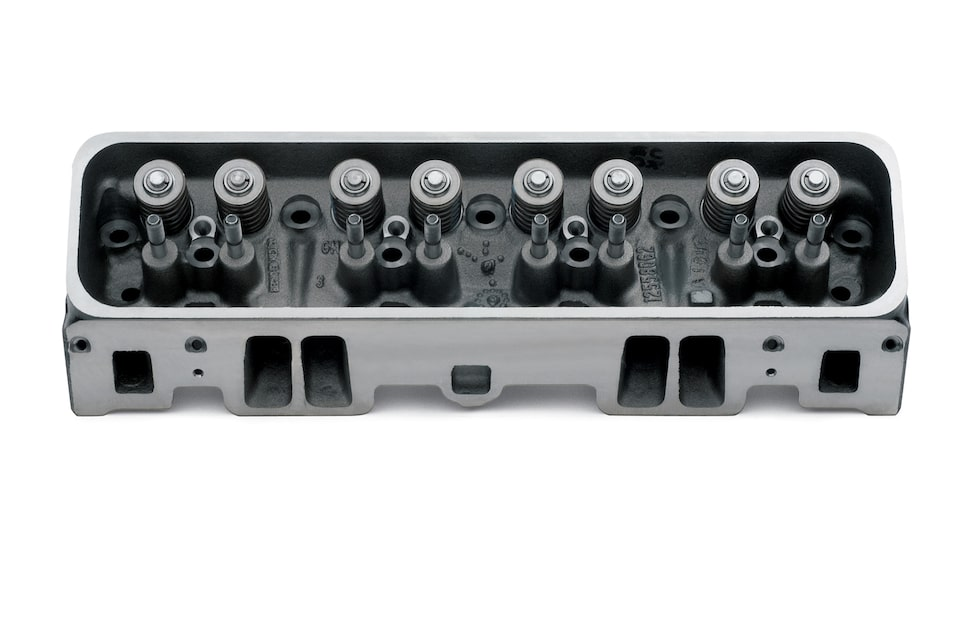 Chevy Performance Vortec Engine Cylinder Heads
