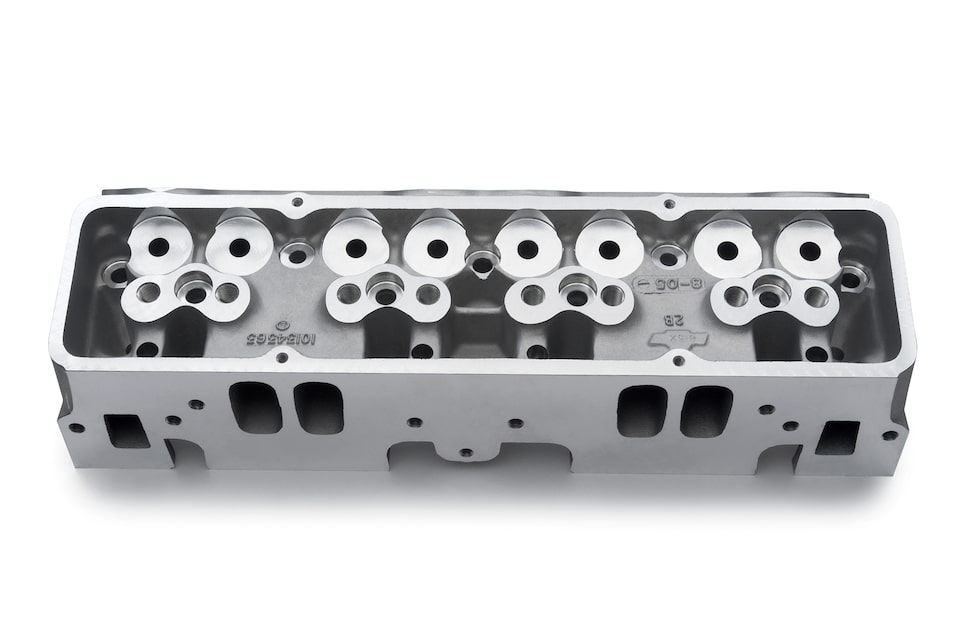 Chevy Performance Small-Block Aluminum Racing Cylinder Heads