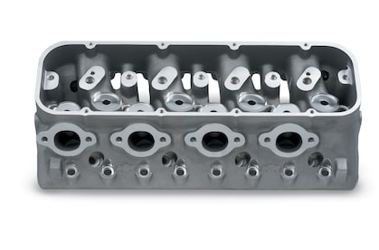 Splayed-Valve Aluminum Race Cylinder Heads Chevy Performance