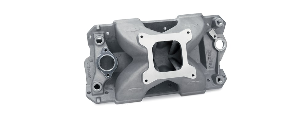 Chevrolet Performance Small-Block Intake Manifold With 18 Degree Competition Part No. 24502481