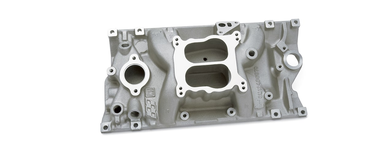 Chevrolet Performance Small-Block High Rise Intake Manifold  With Oval Port Part No. 12496820