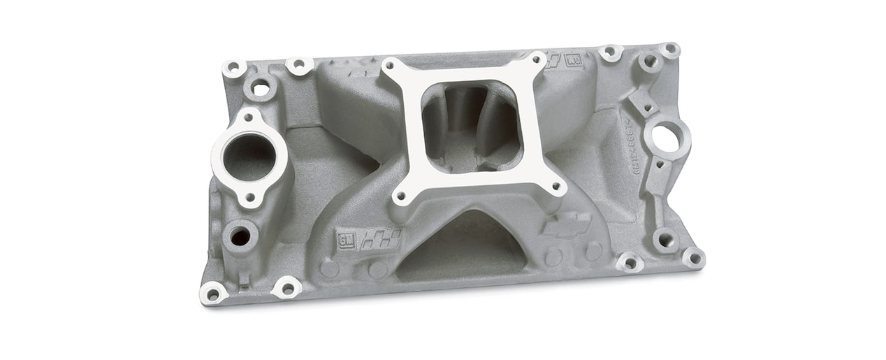 Chevrolet Performance Small-Block Intake Manifold For Eliminator Vortec Head Design Part No. 12496822