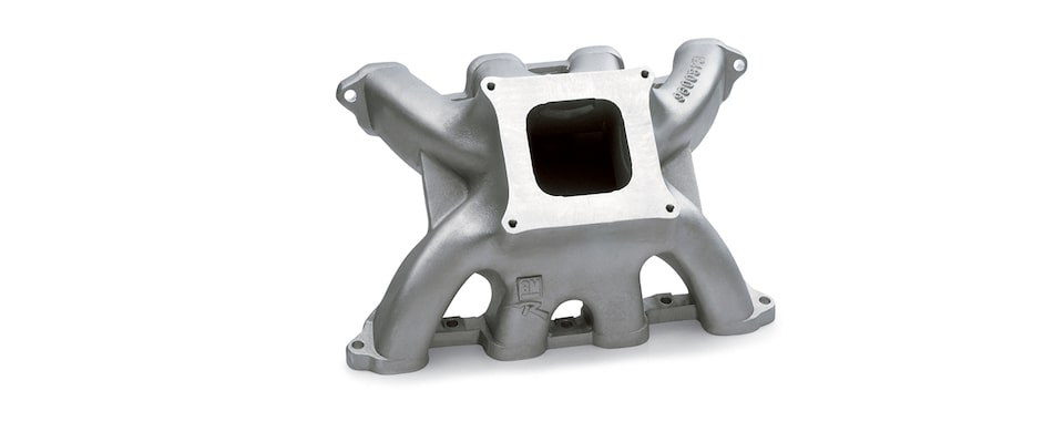 Chevrolet Performance Small-Block Intake Manifold With Spider Restrictor Design SB2.2 Part No. 12480096