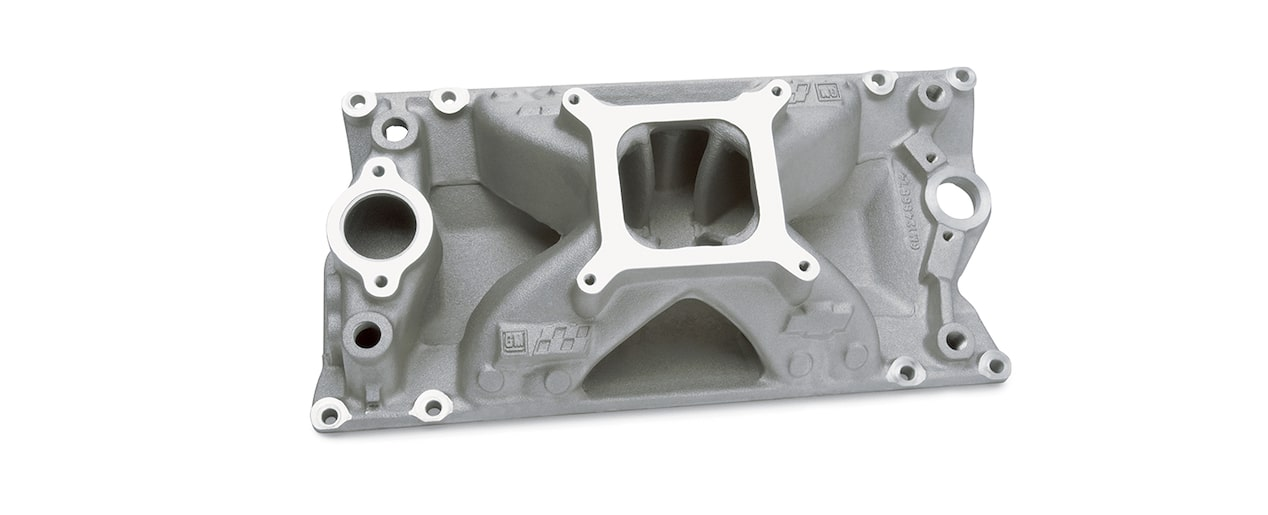 Chevrolet Performance Small-Block Intake Manifold For Vortec Head Design For TBI Part No. 12496821