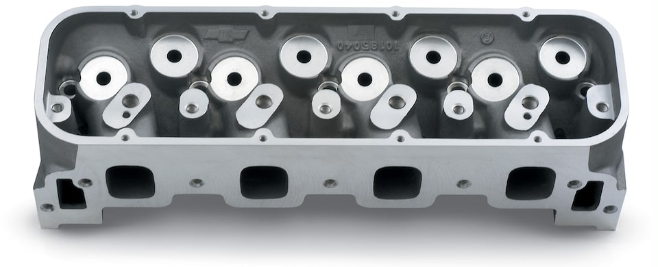 Splayed-Valve Aluminum Cylinder Head Assembly