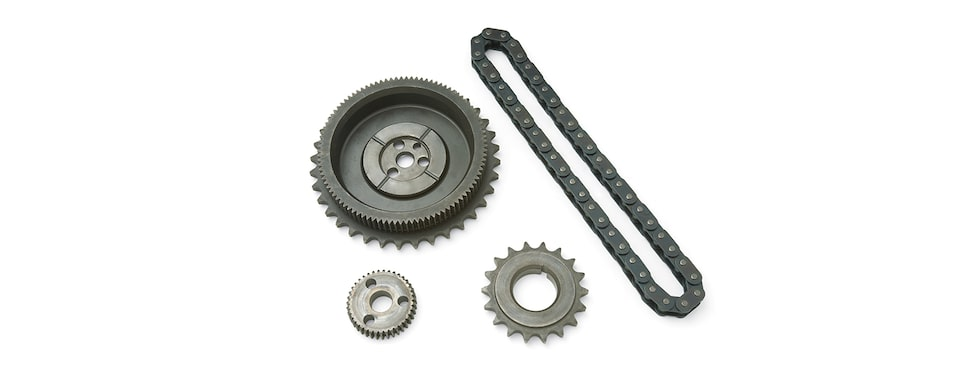 Chevrolet Performance Small-Block Extreme-Duty Timing Chain Kit For LT1 And LT4 Engines Part No. 12370835