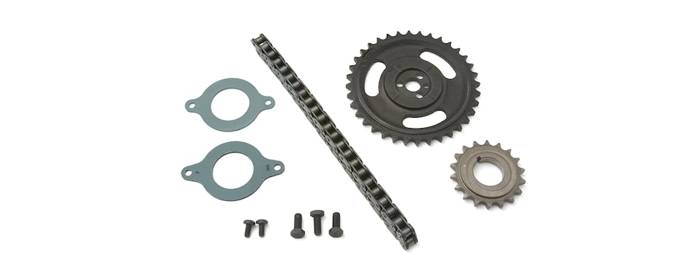 Chevrolet Performance Small-Block Single Roller Timing Chain Kit Part No. 12371043