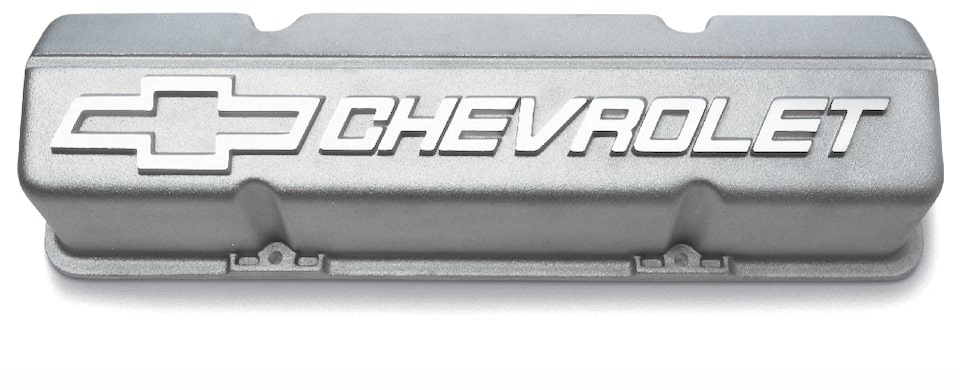 Chevrolet Performance Small-Block Tall Aluminum Valve Covers Part No. 10185064