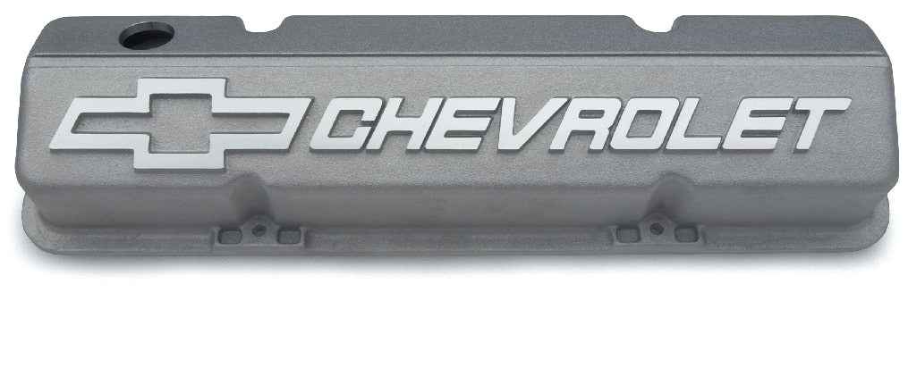 Chevrolet Performance Small-Block Short Aluminum Valve Covers Part No. 12480127
