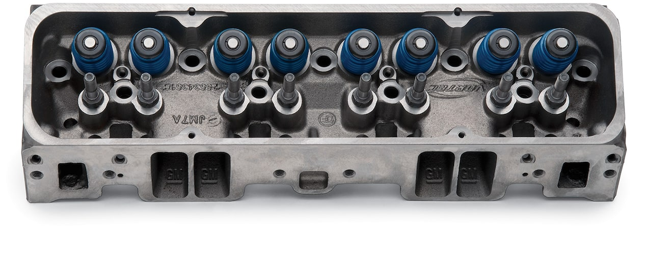 Small-Block Vortec Bowtie Cylinder Head Assembly