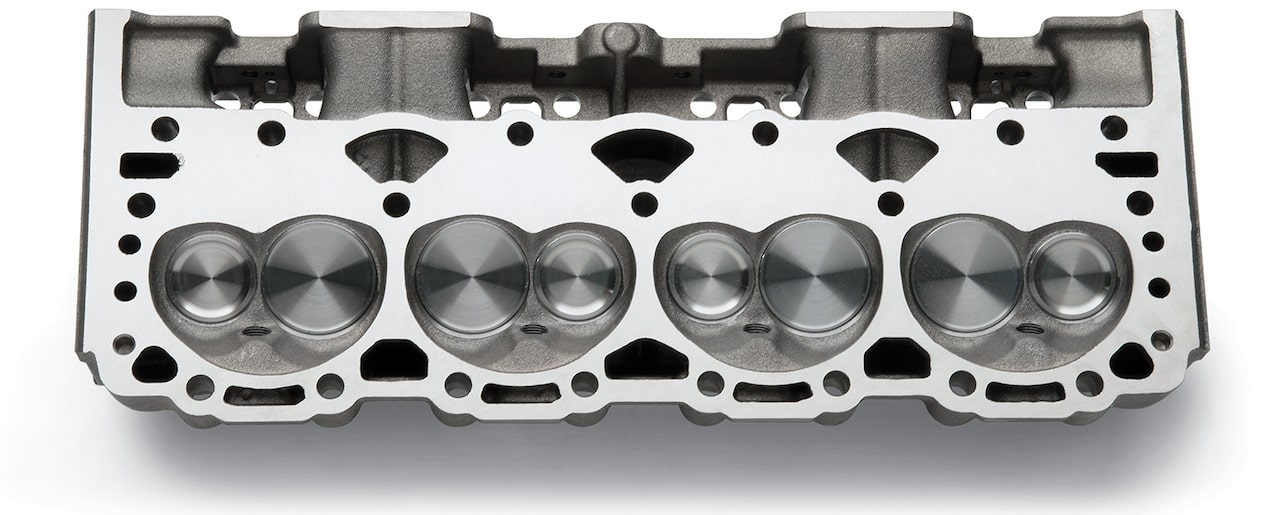 Small-Block Vortec Bowtie Cylinder Heads | Chevrolet Performance