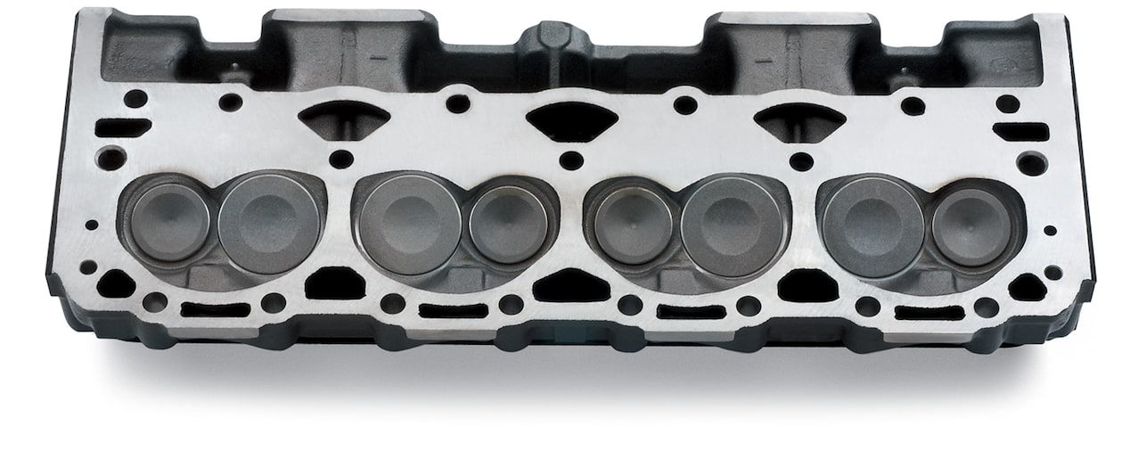Chevy Performance Cast-Iron Vortec Cylinder Head Assembly