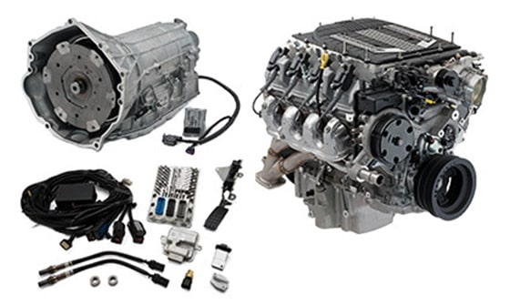 LT4 Wet Sump 6 2L Engine with 8L90-E Transmission