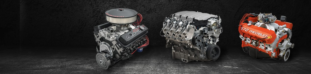 Crate Engines: Classic Chevy Race Engines | Chevrolet